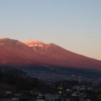 夕焼け浅間山 5