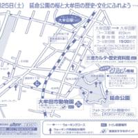 JRウォーキング:「延命公園の桜と大牟田の歴史・文化にふれよう」