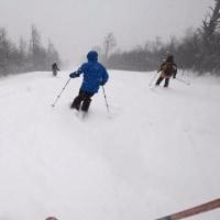 3日間福島県のスキー場で新雪を堪能