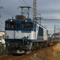 2017年3月23日  新金貨物線   EF64-1023 1094レ