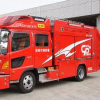知多市消防本部 救助工作車