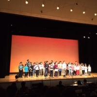 英語劇の発表会。