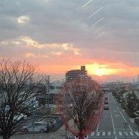 〇〇〇の夕陽