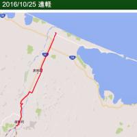 10/25 遠軽駅から歩く