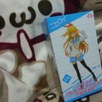 ☆【580】ニセコイ プレミアムフィギュア 千棘&小咲 桐崎千棘