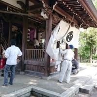 綾部小学校PTA総会と熊野新宮神社氏子総会