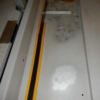 車庫のパッレトを塗装しました。