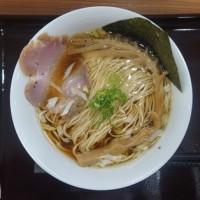 17299 めん屋さる@福井 6月24日 飛躍的に美味しくなって、突き抜けたね!しょうゆ