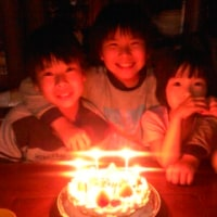 次男の誕生日