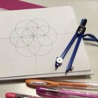 明日2月25日「神聖幾何学HaRe・Art」体験講座やりま~す(^^)/