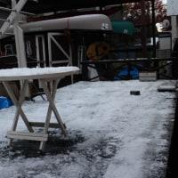 初雪・・・