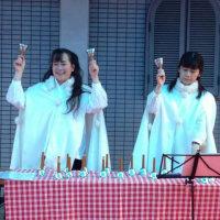 ヨーデル北川桜さんのハンドベルコンサート