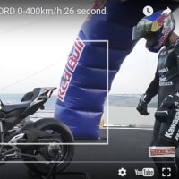 バイクで400km/h! クレイジーな世界記録に挑戦!!