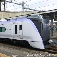 《鉄道写真》E353系~松本にて~