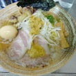 "Weekendの麺処巡り 覆麺 智 で 9 ""牛""周年記念麺"