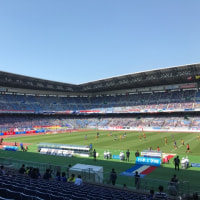 Yokohama Marinos vs Sendai Vegalta@Nissan Stadium where the final game of 2002 Soccer World Cup
