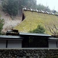京都市・北山の茅葺き民家
