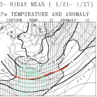 この冷え冷え祭りはいつまで続くのか…?一か月予想図を読み解いてみた