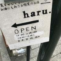 西荻窪ランチ 『お野菜を中心としたお酒にも合うお惣菜のお店haru.』 ・・・期待値以上!