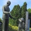 忠犬ハチ公像 上野博士の帽子がない!