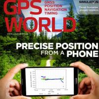 スマホGNSS Raw dataが前面に<GPS World誌デジタル版11月号