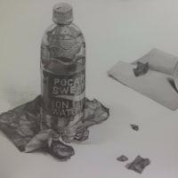 ポカリスエット、紙コップ、折り紙
