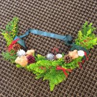 静岡講師会  クリスマススワッグです。
