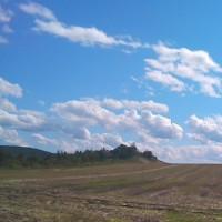 空がとっても青いから