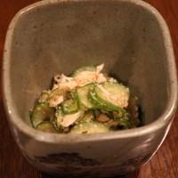 レシピ付き献立 タラの揚げ物・かぼちゃの含め煮・きゅうりとささみの酢の物・冷奴・ほうれん草の胡麻和えその他