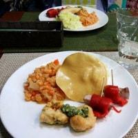 TIFAカフェ・サパナでの千原さんのお料理会♪。