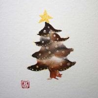 地味なクリスマスツリー