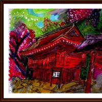 大和の国 談山寺 (2)