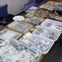 今年最後の切手市場も大盛況でした