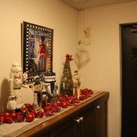 玄関とトイレのクリスマス