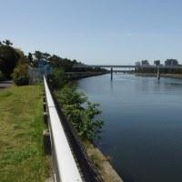 花見川サイクリングコース、その3下流域
