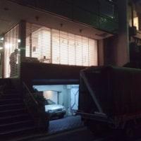 中央区京橋にて「夜のギャラリー」