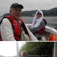 なんちゃって漁師にゲスト2人来訪。