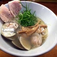 醤油と貝と麺 そして人と夢 / 鳥と蛤の塩そば @大阪市西淀川区塚本