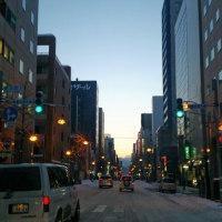 明日札幌最終日で御座る。