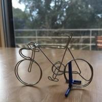 ワイヤーアート 自転車