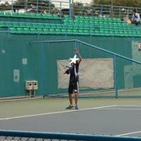 長男くんのテニス♪