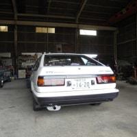 AE86 車検