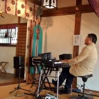 『八尾もの市』「渋川神社」奉納演奏、無事遂行させて戴きました!