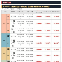 (  ¯⌓¯  )安っ!!参考→【HIS】2016年ジュンスバラコンツアー料金