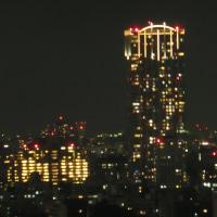 渋谷区桜丘町30階からの夜景