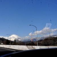 東名高速道路からの富士山
