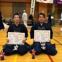 足立区民剣道大会の入賞者