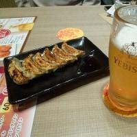 バス旅行解散後にKITTE名古屋で夕飯