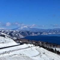 美幌峠からの展望・・屈斜路湖。