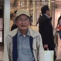 先ほど桑波田さんと東京駅で!お元気ですが現地は大変?!